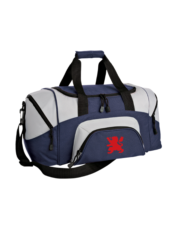 SAINT VIATOR BASKETBALL Small Colorblock Sport Duffel