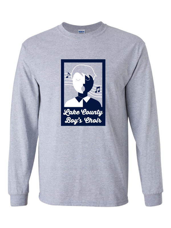 LAKE COUNTY BOYS CHOIR LONG SLEEVE ULTRA COTTON TEE