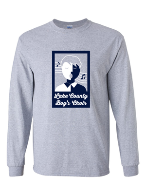 LAKE COUNTY BOYS CHOIR ADULT LONG SLEEVE ULTRA COTTON TEE