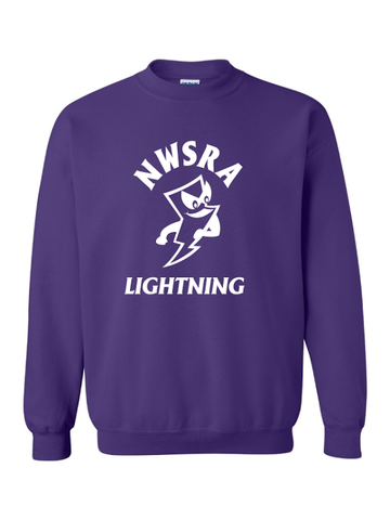 NWSRA LIGHTNING HEAVY BLEND CREWNECK SWEATSHIRT