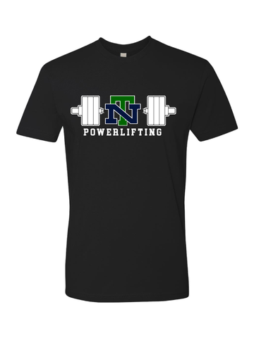 NEW TRIER POWERLIFTING Next Level Unisex Cotton T-Shirt