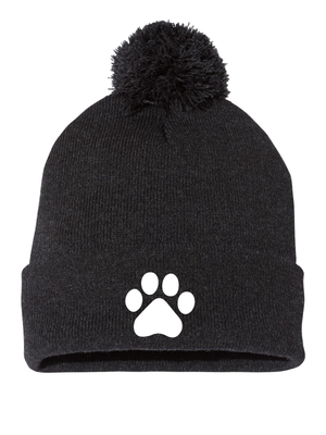 "WHITELEY Sportsman Pom-Pom 12"" Knit Beanie"
