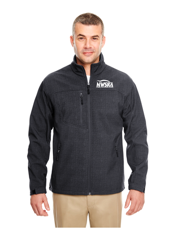 NWSRA FULL TIME STAFF UltraClub Adult Printed Soft Shell Jacket
