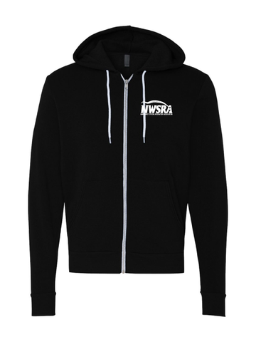NWSRA  Part Time Staff Unisex Poly-Cotton Fleece Full-Zip Hoodie