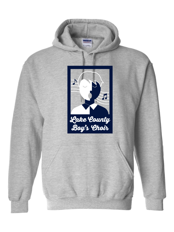 LAKE COUNTY BOYS CHOIR YOUTH  COTTON HOODED SWEATSHIRT