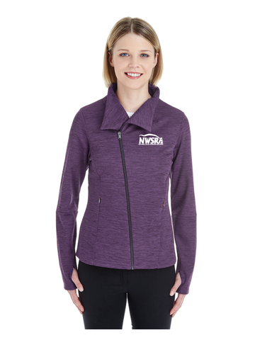 NWSRA FULL TIME STAFF North End Ladies' Amplify Mélange Fleece Jacket