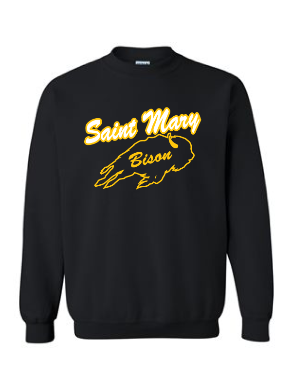 Saint Mary Fall 2020 Crewneck Sweatshirt  **ADULT AND YOUTH**