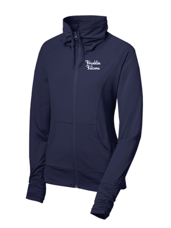 Franklin School Staff  LADIES Sport-Wick® Stretch Full-Zip Jacket