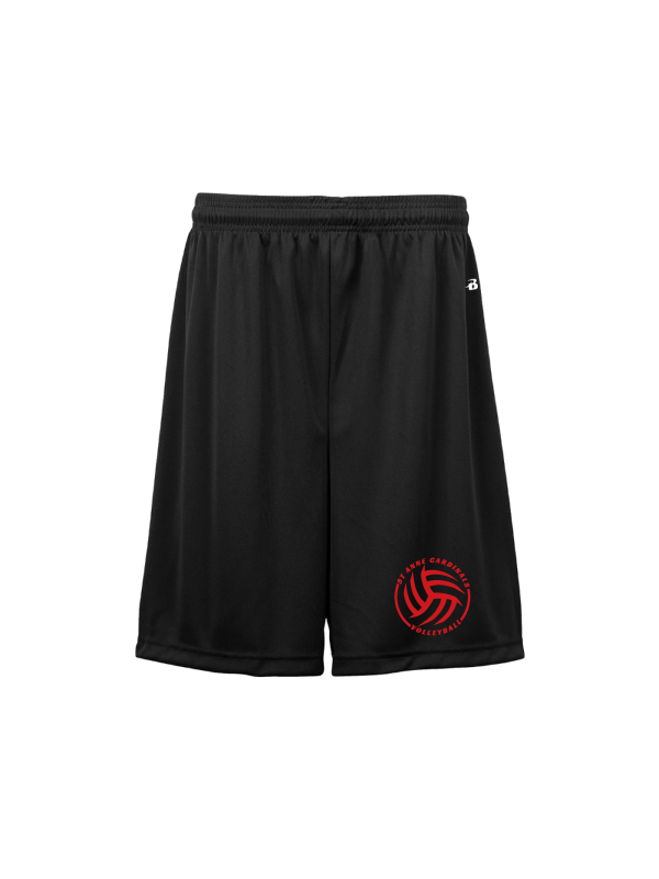 ST ANNE VOLLEYBALL YOUTH B-CORE 6 INCH SHORT
