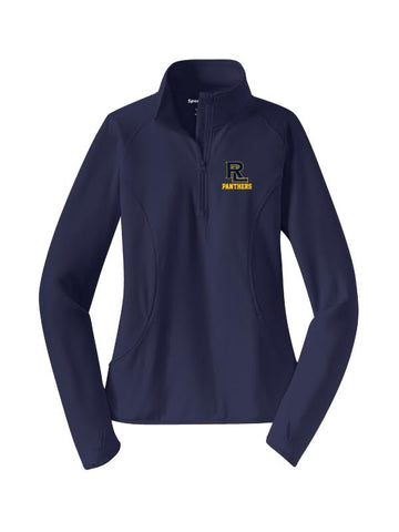 RLHS STAFF LADIES Sport Wick 1/2 Zip Pullover