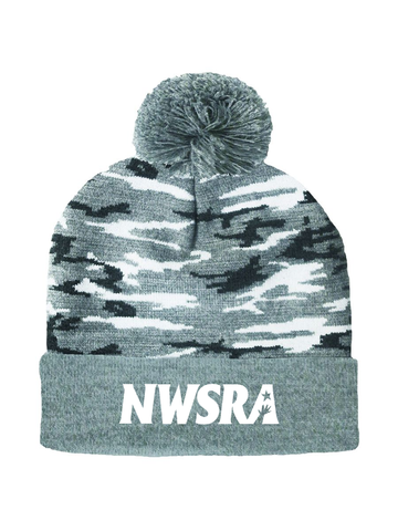NWSRA FULL TIME STAFF CAMO BEANIE (EMBROIDERY)
