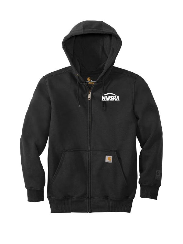 NWSRA FULL TIME Carhartt ® Rain Defender ® Paxton Heavyweight Hooded Zip-Front Sweatshirt