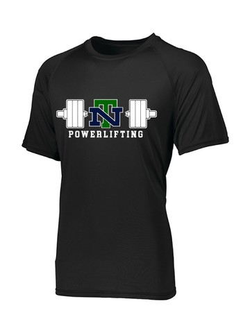 NEW TRIER POWERLIFTING PERFORMANCE SHORT SLEEVE WICKING TEE