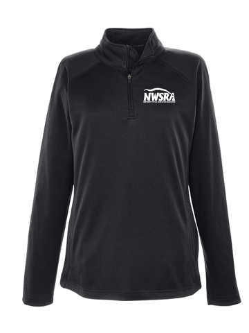 NWSRA FULL TIME STAFF  Ladies' Stretch Tech-Shell® Compass Quarter-Zip
