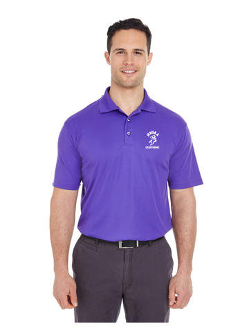 NWSRA LIGHTNING MENS Cool & Dry Mesh Piqué Polo