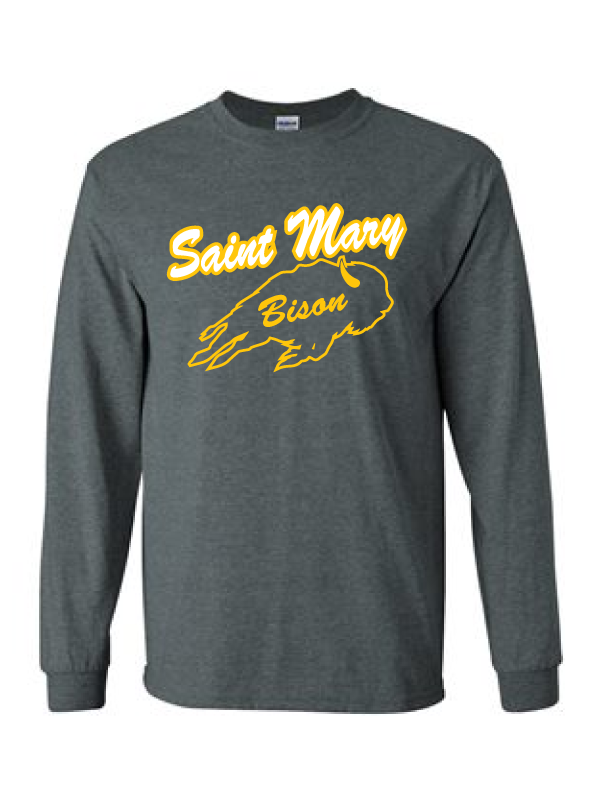 Saint Mary Fall 2020 Ultra Cotton Long Sleeve Tee     ***ADULT ***