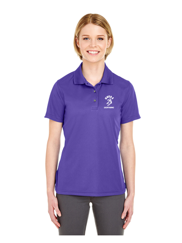 NWSRA LIGHTNING Ladies' Cool & Dry Mesh Piqué Polo