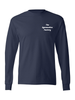 THE GYMNASTICS FACTORY Tagless® 100% Cotton Long Sleeve T-Shirt
