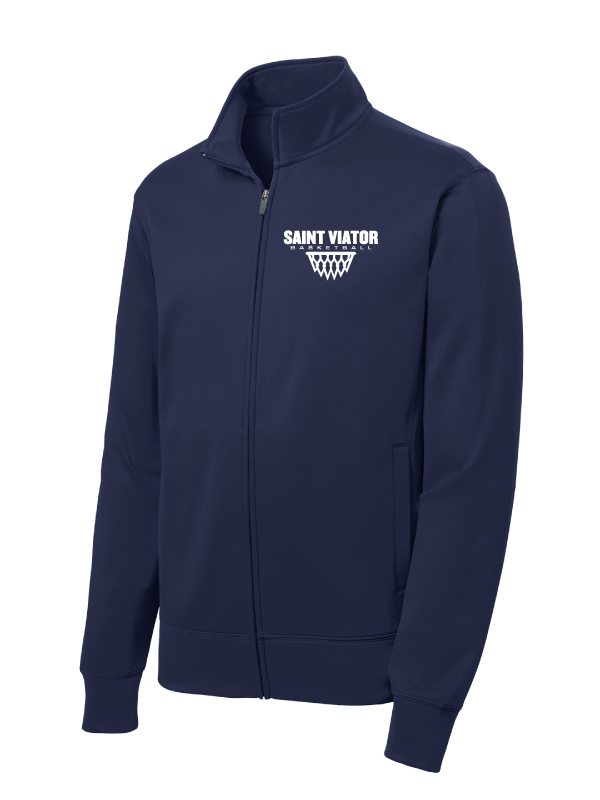 SAINT VIATOR BASKETBALL Sport-Wick® Fleece Full-Zip Jacket