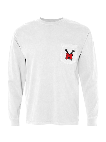 MHS Girls Lacrosse Long Sleeve Pocket T-Shirt
