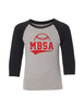 MBSA Youth 3/4 Sleeve Tee
