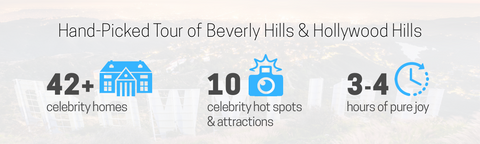 beverly hills celebrity homes map tour