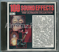 100 Sound Effects The Ultimate Collection Vol. 2 CD (Usado) - Almaraz Records | Tienda de Discos y Películas  - 1