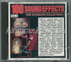 100 Sound Effects The Ultimate Collection Vol. 3 CD (Usado) - Almaraz Records | Tienda de Discos y Películas  - 1