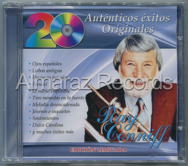 Ray Conniff 20 Autenticos Exitos Originales CD - Almaraz Records | Tienda de Discos y Películas  - 1