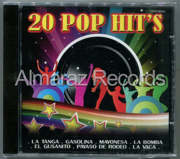 20 Pop Hits CD
