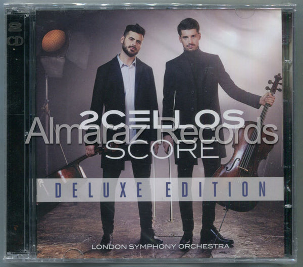 2Cellos Score Deluxe Edition CD+DVD