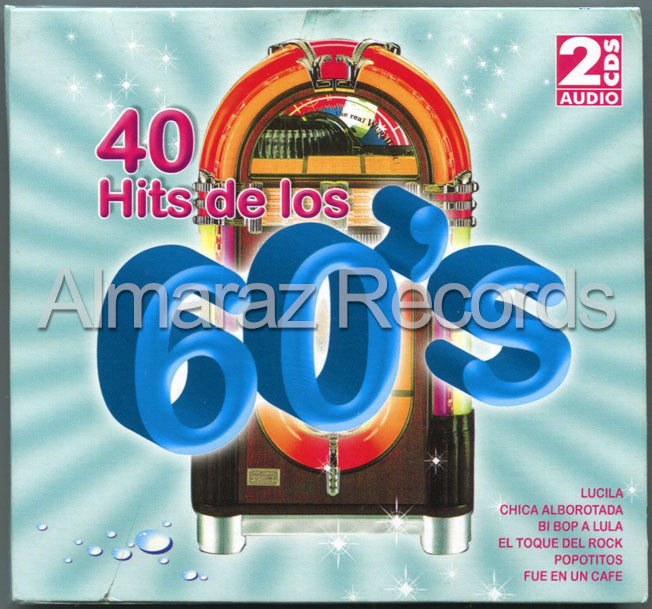 40 Hits De Los 60's 2CD