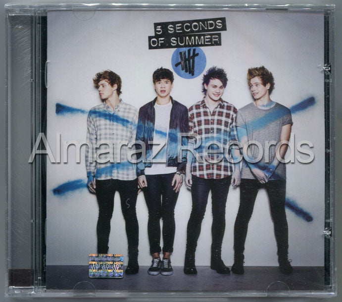 5 Seconds Of Summer 5 Seconds Of Summer CD - Almaraz Records | Tienda de Discos y Películas  - 1