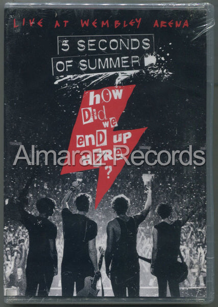 5 Seconds Of Summer How Did We End Up Here Live At Wembley Arena DVD