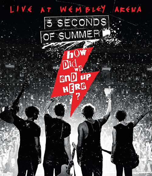 5 Seconds Of Summer How Did We End Up Here Live At Wembley Arena Blu-Ray [Import] - Almaraz Records | Tienda de Discos y Películas