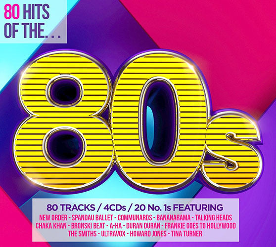 80 Hits Of The 80's 4CD - Almaraz Records | Tienda de Discos y Películas