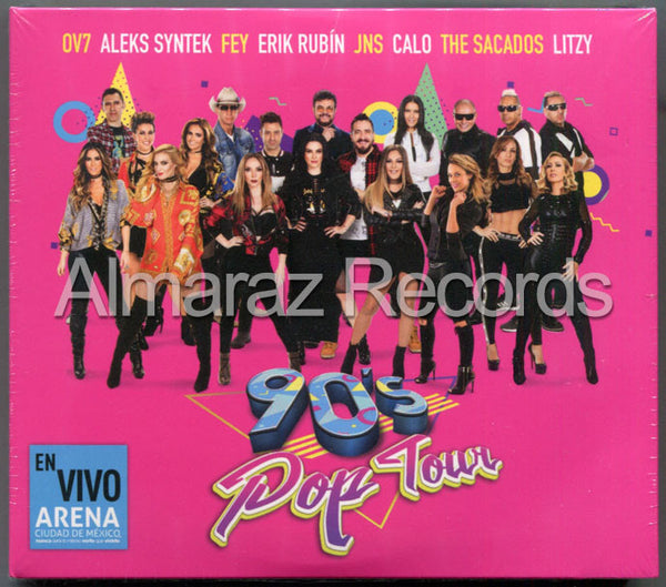 90's Pop Tour 2CD+DVD