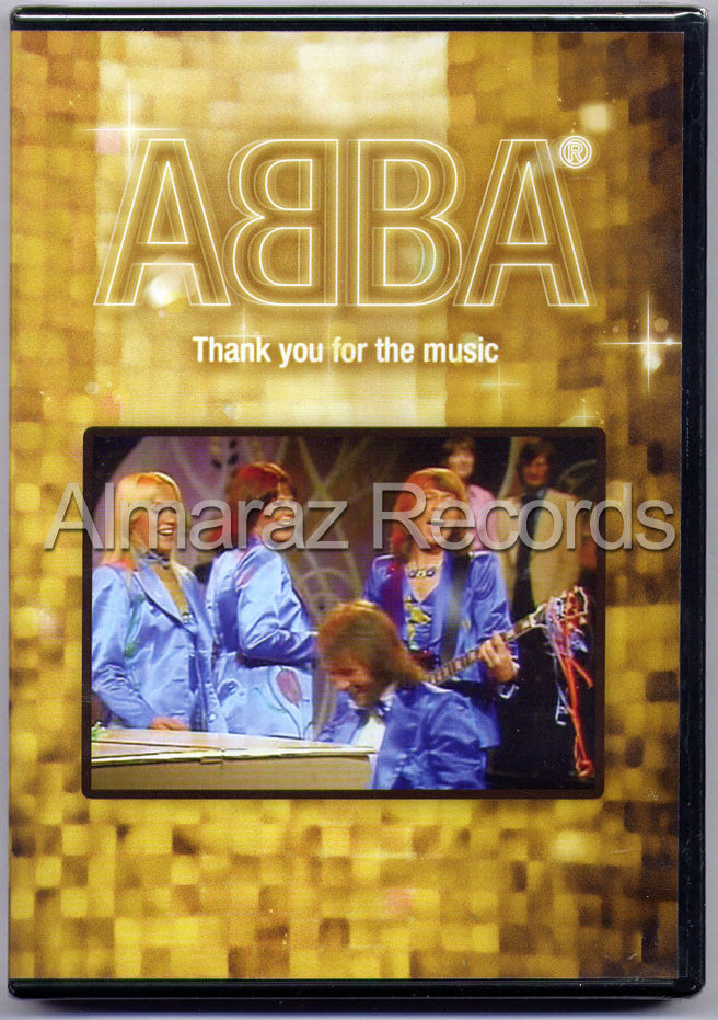 ABBA Thank You For The Music DVD - Almaraz Records | Tienda de Discos y Películas  - 1