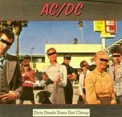 AC/DC Dirty Deeds Done Dirt Cheap Vinyl LP - Almaraz Records | Tienda de Discos y Películas  - 1