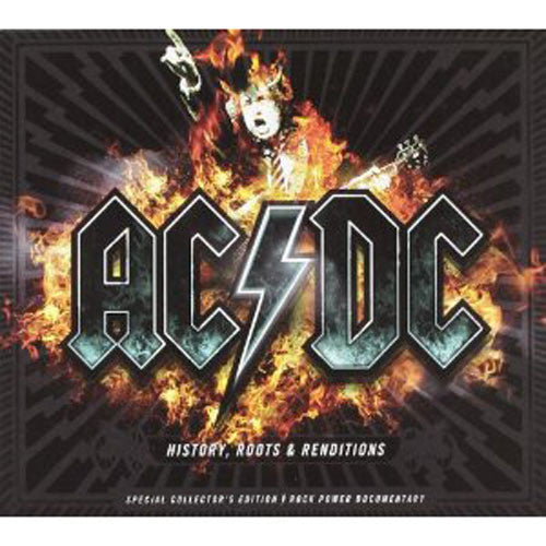 AC/DC History Roots & Rendition CD+DVD [Import] - Almaraz Records | Tienda de Discos y Películas