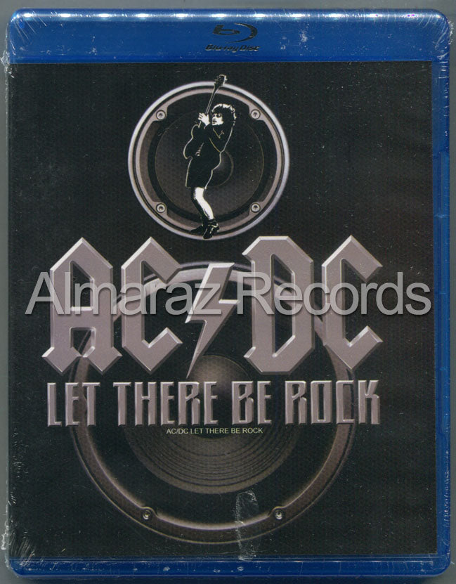 AC/DC Let There Be Rock Blu-Ray - Almaraz Records | Tienda de Discos y Películas  - 1