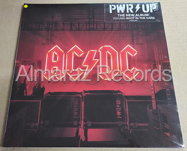 AC/DC Power Up Limited Yellow Vinyl LP