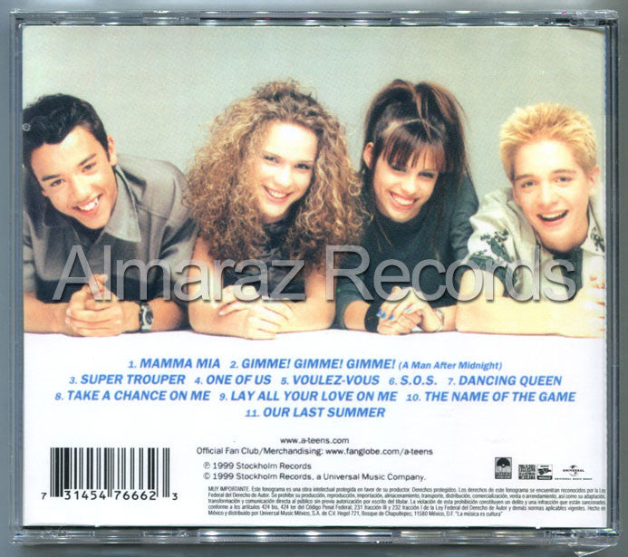 ATeens The ABBA Generation CD - A-Teens - Almaraz Records | Tienda de Discos y Películas  - 2
