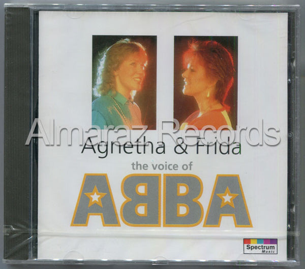 ABBA Agnetha & Frida The Voice Of ABBA CD [Import] - Almaraz Records | Tienda de Discos y Películas  - 1
