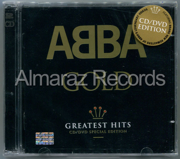 ABBA Gold Greatest Hits CD+DVD - Almaraz Records | Tienda de Discos y Películas  - 1