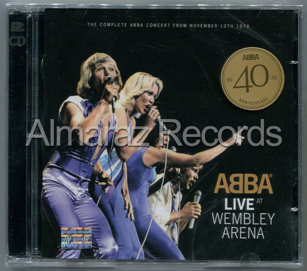 ABBA Live At Wembley Arena 2CD - Concert From November 10Th 1979 - Almaraz Records | Tienda de Discos y Películas  - 1