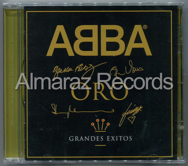 ABBA Oro Grandes Exitos CD - Gold Spanish Versions - Almaraz Records | Tienda de Discos y Películas  - 1