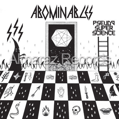 Abominables Pseudo Super Science CD - Almaraz Records | Tienda de Discos y Películas