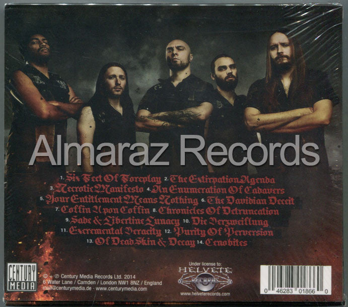 Aborted The Necrotic Manifiesto CD - Almaraz Records | Tienda de Discos y Películas  - 2