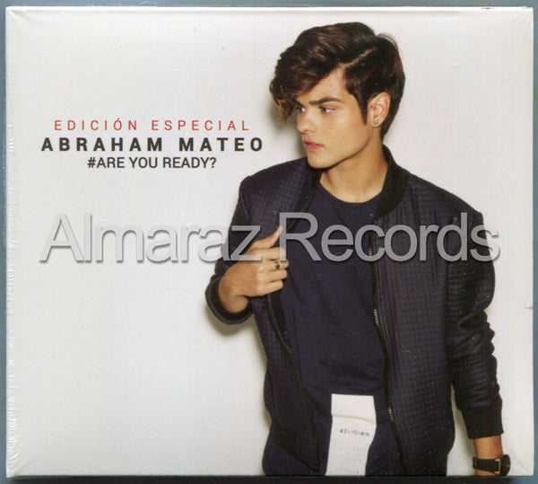 Abraham Mateo #Are You Ready? Edicion Especial CD - Almaraz Records | Tienda de Discos y Películas  - 1